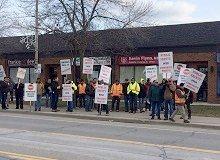 Jan 13 2017 Protest Outside Kevin Flynn's Office