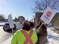Ottawa protest Jan 6 2017