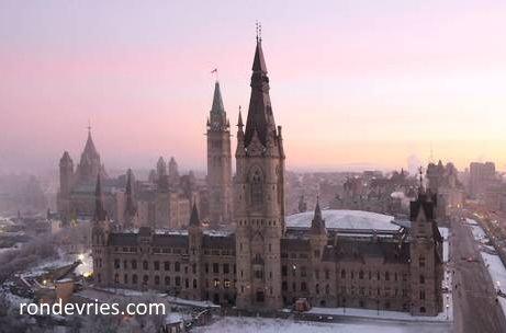 West Block of Parliament by Ron de Vries