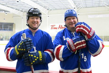Local 115 hockey players