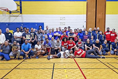Movember Dodgeball Tournament 2018 - IBEW Local 353 and all teams