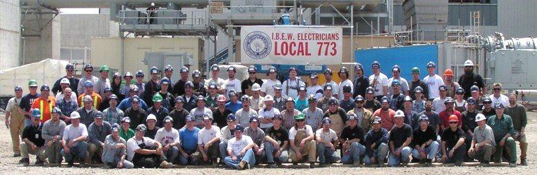 IBEW 773 members group shot