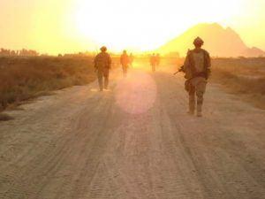 Steve Krsnik military patrol