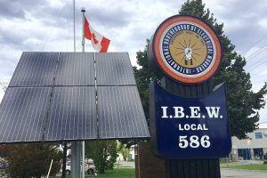 IBEW Local 586 Sign